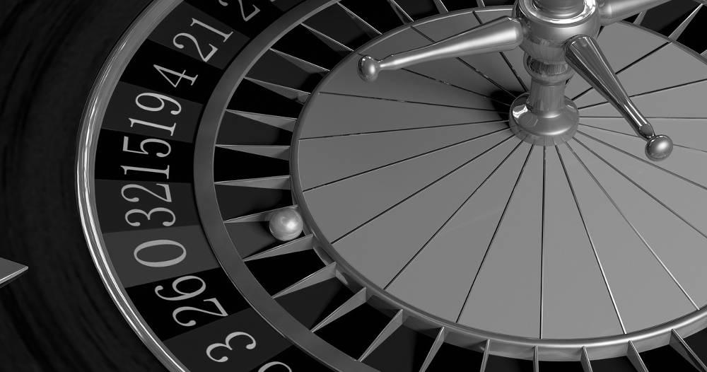 Bild von einem Roulette als Synonym für Spielsucht
